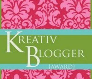 Kreativ Blogger Award Tag