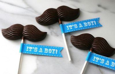 Babyshower inspiration : Moustache