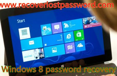 Tricks about Windows 8 Password Recovery