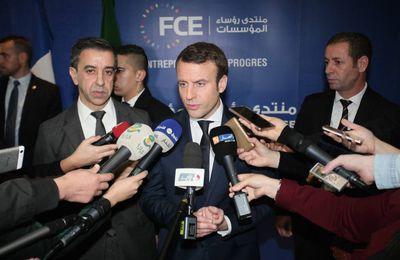 L'Algérie en colère contre Emmanuel Macron