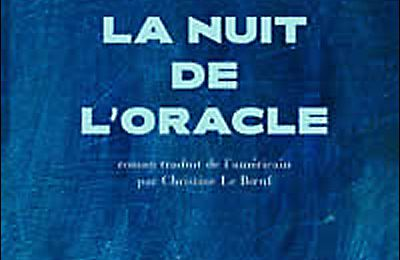 La nuit de l'oracle de Paul Auster