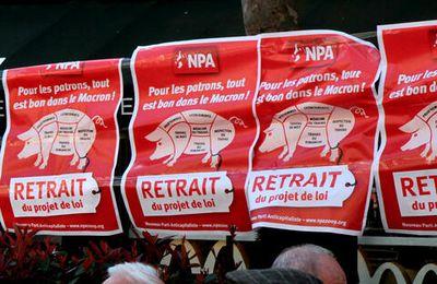 Macron président, l'offensive capitaliste va s'amplifier. Construisons les résistances !