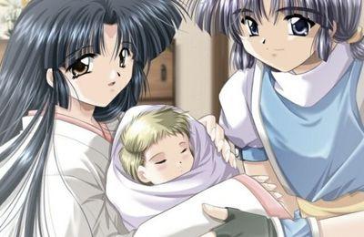 parents autour de leur bébé
