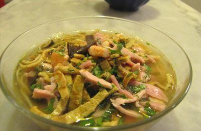 Soupe chinoise aux cinq épices