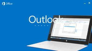 Característica proeminente do Outlook