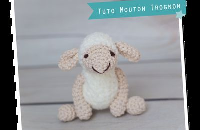 Mouton Trognon au crochet (tutoriel gratuit - DIY)