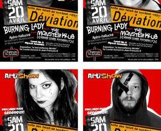 Samedi 20 avril à Sardent, projection/concert.
