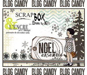 blog candy de Noël chez l'encre et l'image