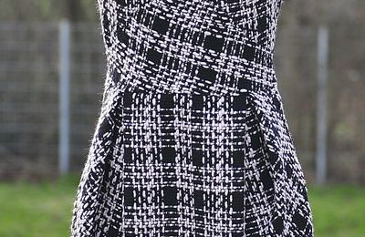 Chanel Little Black Dress - FREE Sewing Pattern - My Handmade Space