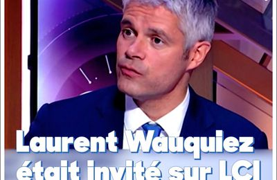Quand Laurent Wauquiez perd la face en direct