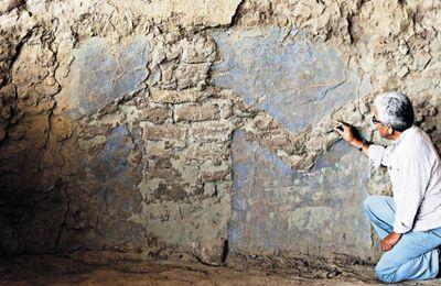 Salen a la luz nuevos murales con sacerdotisas moche en Huaca de la Luna