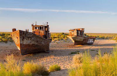 Mer d'Aral : une renaissance aussi belle que spectaculaire et inattendue !