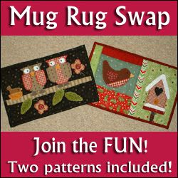 International mug rug swap !!
