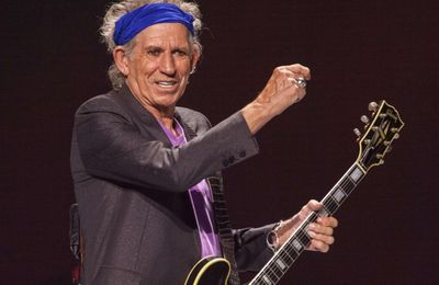 Keith Richards : le Rolling Stones a 70 ans