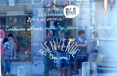 Ce bar est alternatif, bienvenue à l'Alternatibar, à Lyon