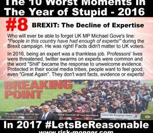Le top 10 du Riskmonger des pires moments de 2016, l'Année du Stupide
