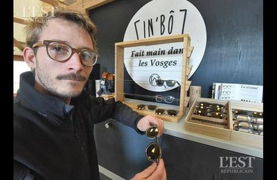 L'Est Républicain - Innovation Les lunettes In'Bô envoient du bois