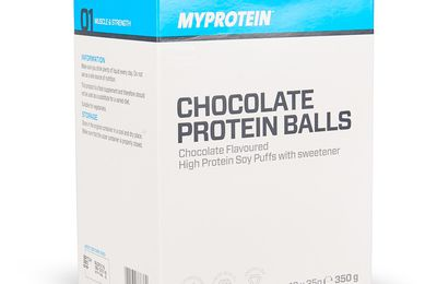 Barres protéinées croustillantes au chocolat (avec MyProtein)