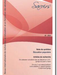 Les communautés d'apprentissage - Revue Savoirsnuméro43. 2017
