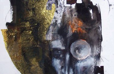 Seb Morsard: dessin en techniques mixtes - sans titre n°7 (2009)