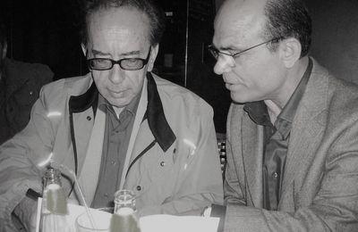 Simbad avec l'ecrivain Ismail Kadaré