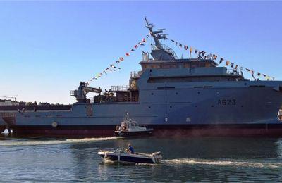 France: Le Champlain, le 3e B2M, livré à la Marine