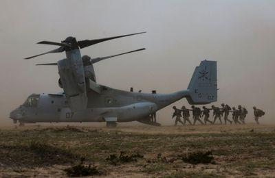 Réduction de moitié des moyens aériens américains en Espagne