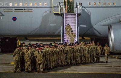 Le bataillon anglo-français se déploie en Estonie