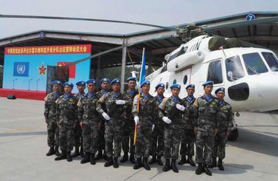 ONU: la Chine déploie des hélicoptères dans le cadre d'une OMP au Soudan