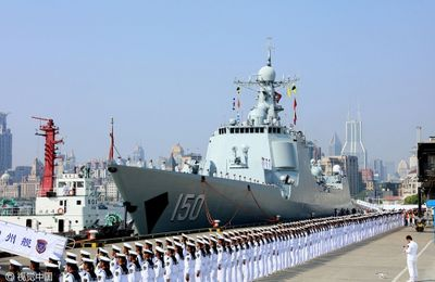 Trois bâtiments militaires chinois vont visiter 20 pays en six mois