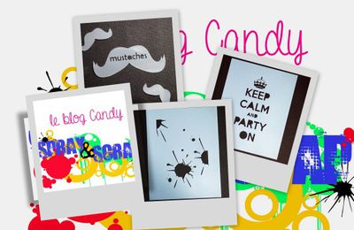 Blog-Candy chez Spray & Scrap