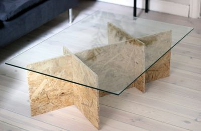 Une table en OSB