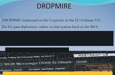 Dropmire: L'outil espion implanté aux ambassades Européennes