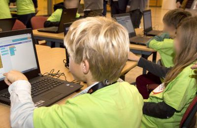 Initier les enfants au code