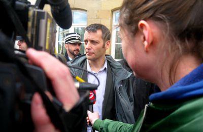 Le lanceur d'alerte et le journaliste font front au procès «LuxLeaks» (Dan Israel)