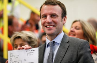 Le crowd funding expres de la campagne Macron dans l'oligarchie internationale