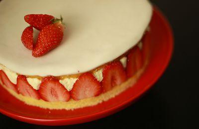 fraisier facile et lége