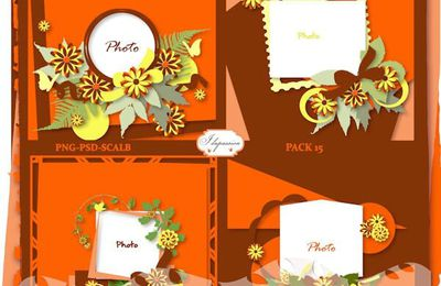 Les templates de Ida Passion, pack 15