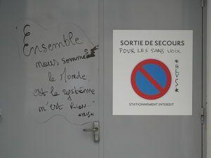 MULHOUSE : Sur les murs , il écrit ... suite & faim !