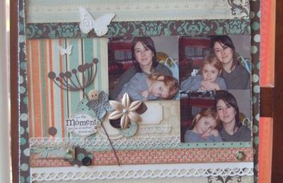 Page papiers Authentique - DT rue du scrap