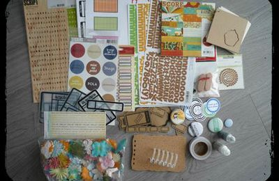 Blog candy sur 'Le scrap de Marina'