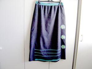 Custo d'une jupe en jean