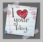 I love your blog, gentils abonnés!