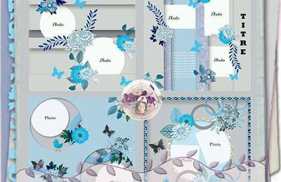 Les templates de Scrap'Talou - pack 15