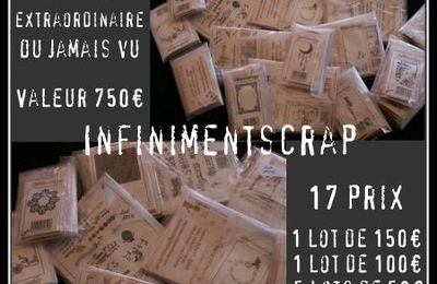 Enorme blog candy chez Infiniment Scrap