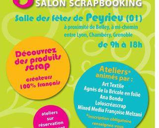 Salon Scrap'Ain Peyrieu : Présentation de mon Atelier Gourmand