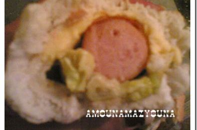 SANDWICH AU HOT DOG DE DINDE