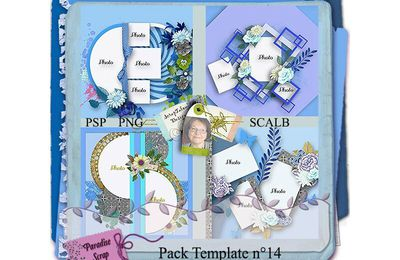Les templates de Scrap'Talou - pack 14