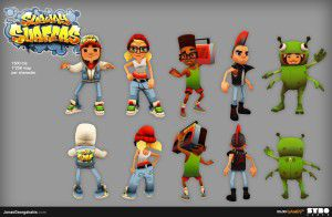 subway surfers leading entertainment