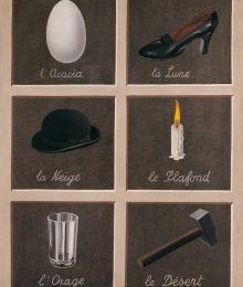 Magritte ou la clé des songes.